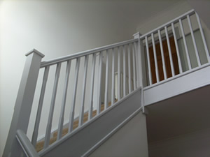 Example of interior paint work